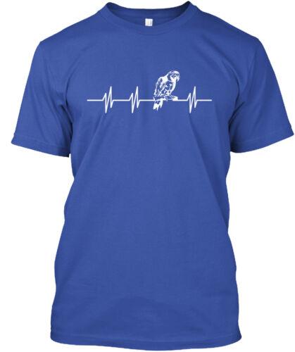 Parrot Heartbeat Standard Unisex T-shirt