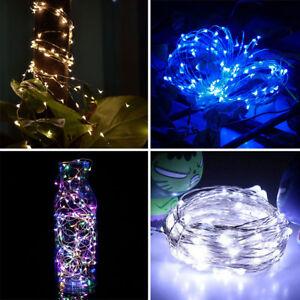 10M-100LED-Guirlande-LED-Chaine-Lumieres-Lampe-Solaire-Pr-Exterieur-Jardin-Noel