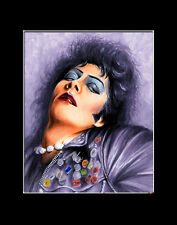 ROCKY HORROR PICTURE SHOWS FRANK N FURTER Print By Billy Tackett