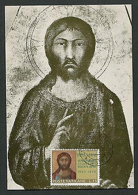 Maximumkarten Europa KüHn Vatican Mk 1970 GemÄlde Jesus Christus Maximumkarte Maximum Card Mc Cm D3320 Verpackung Der Nominierten Marke