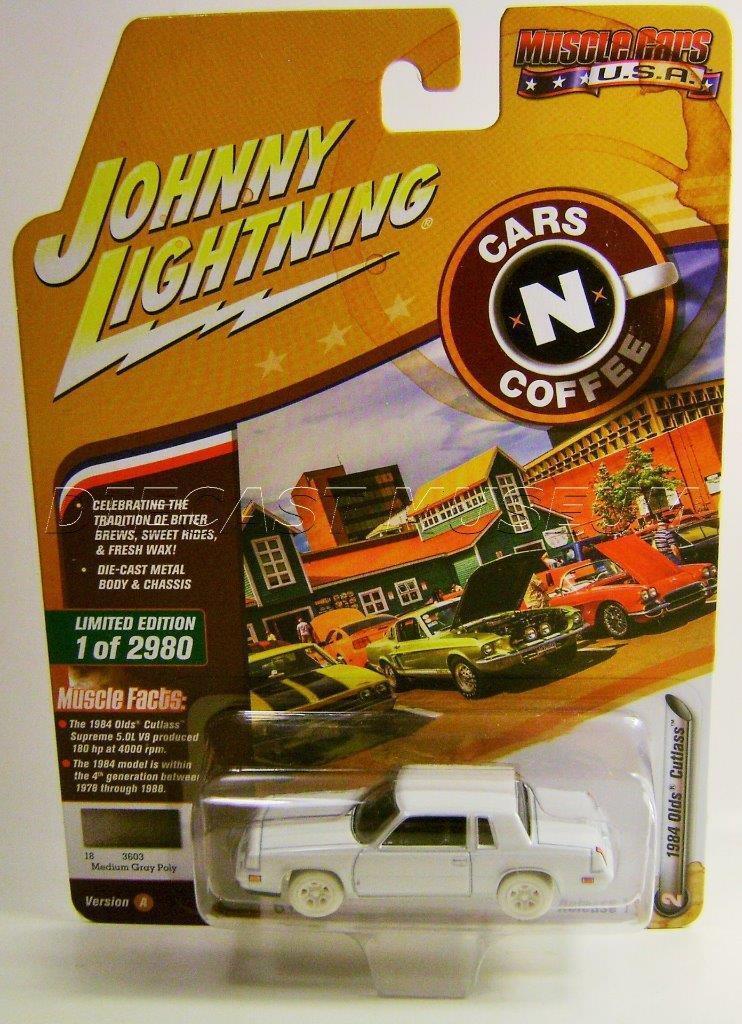 1984 (84 - jährigen cutlass autos n kaffee Weiß lightning - druckguss 2018 selten auto