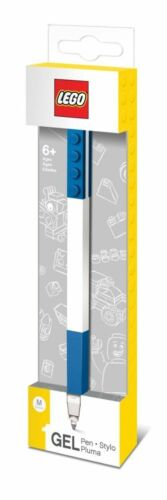 LEGO Gel Pen BLUE Medium Point with BLUE Ink by Santoki NEW /& SEALED