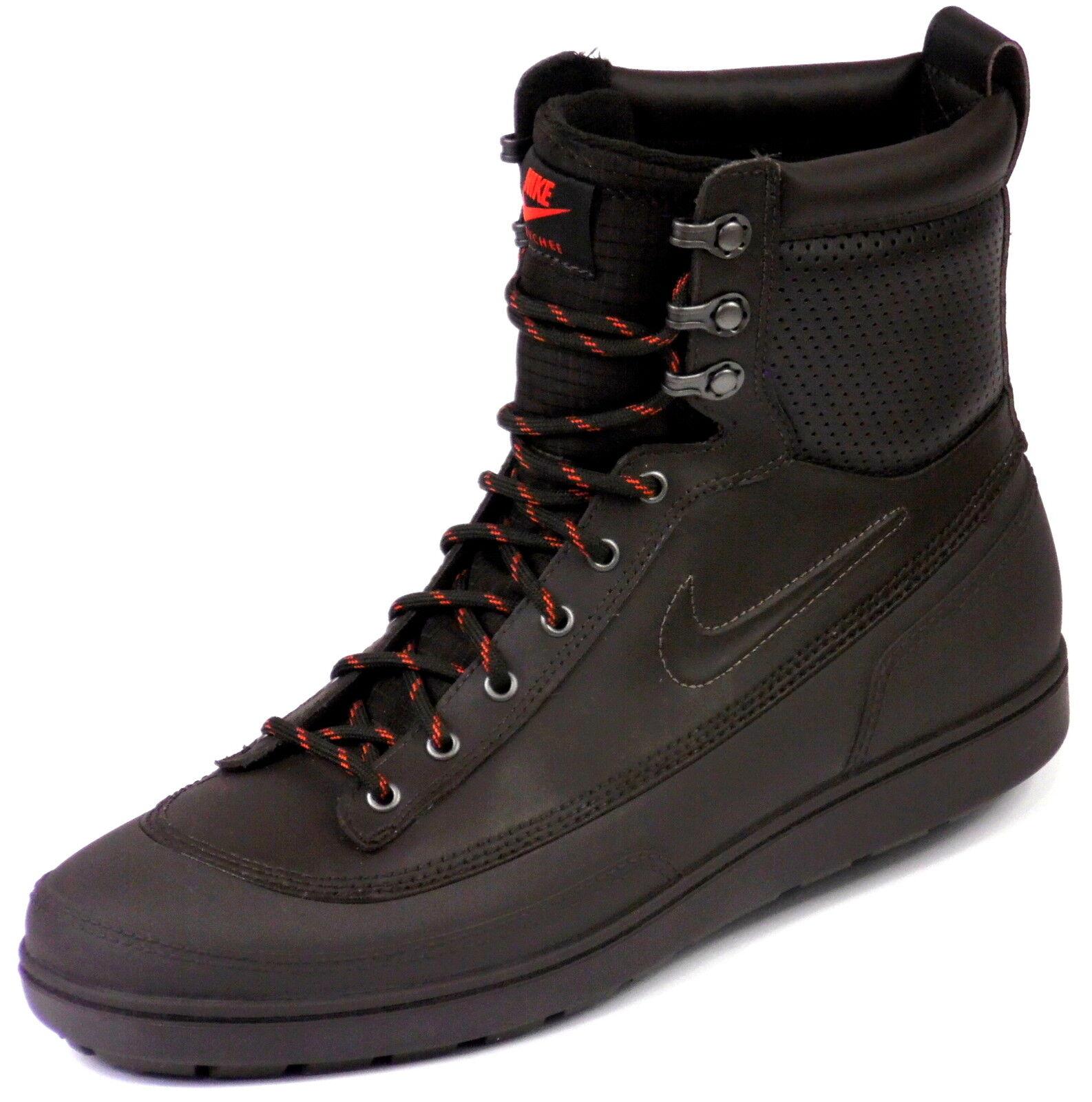 Nuevo nike tychee cuero cuero cuero ACG impermeable 37 zapatos señora botas botas cortos marrón  mejor precio
