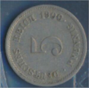 German-Empire-Jagerno-12-1900-J-ext-fine-5-Pfennig-Imperial-Eagle-7848959