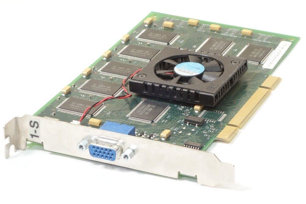 IBM Type 1-S Power GTX 2000 32MB Sgram PCI Computer Graphics Card VGA