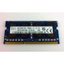 HYNIX 4GB DDR3 PC3-12800S (1600 MHz) LAPTOP RAM MEMORY MODULE
