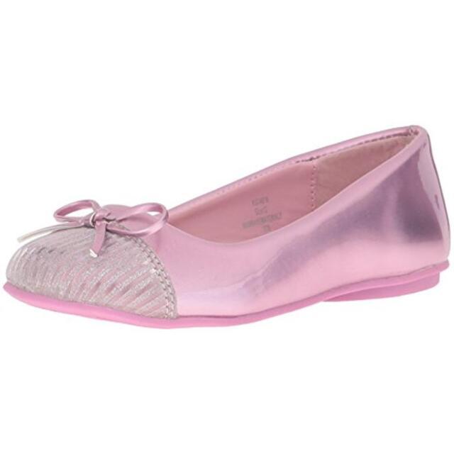 Kensie Girl Size 1 Pink Little Kid / Girls Ballet Flats Shoes KG24516 $37.99