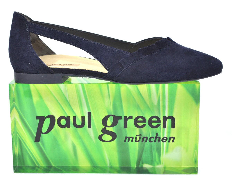 P. Green Ballerina da Scuro Donna Pumps Scarpe 2313 Scuro da Blu Nuovo -20% riduce 22e843
