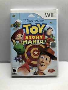Toy Story Mania (Nintendo Wii) Clean & Tested Working - Free Ship