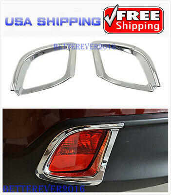 fit 2014-2017 Toyota Highlander Rear Tail Bumper Reflector Fog lamp Cover Trim