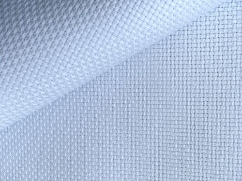 Azul pálido más ligero 14 cuenta Aida Zweigart cross stitch tela-opciones de tamaño