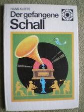 DDR Buch Tonband Plattenspieler Musikautomaten elektrisches Klavier Glockenspiel