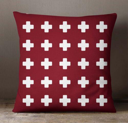 Kissen decken Kastanienbraun geometrische Kissen Fall Square Kissenbezüge werfen