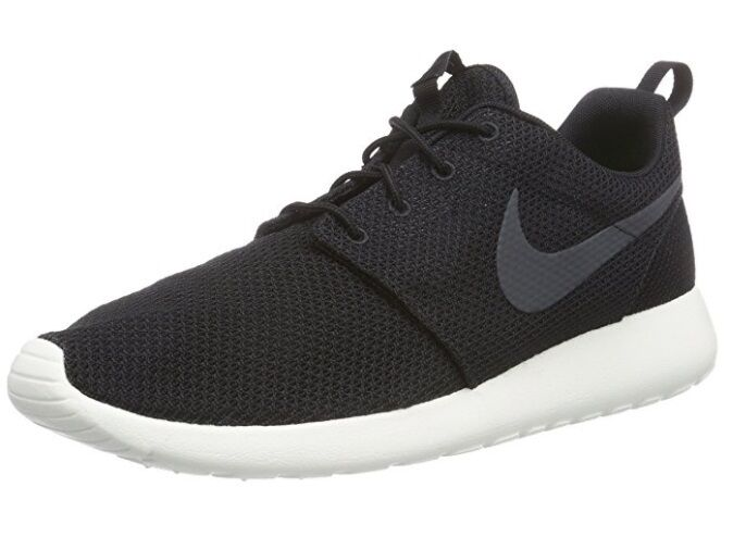 NEW MEN NIKE ROSHE ONE BLACK ANTHRACITE SAIL WHITE 511881010 FREE SHIPPING