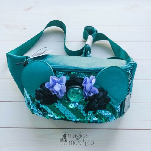 Disney Parks Minnie Mouse Main Attraction Haunted Mansion Loungefly Fanny Pack