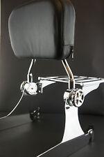 WISDOM MOTORCYCLE Detachable Backrest Sissy Bar For Harley Dyna 06 UP