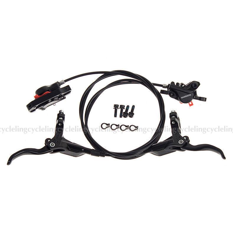 Shimano BR-BL-M395 Bici conjunto de freno hidráulico de frenos de disco delantero y trasero de aceite