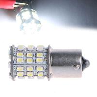 1x Super Bright 1156 BA15S P21W 3014 54-SMD LED White Car Tail Backup Light Bulb