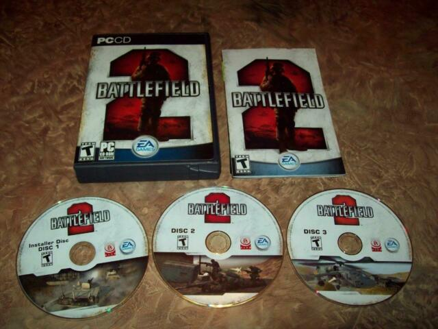 Battlefield 2 (PC, 2005) EA Games