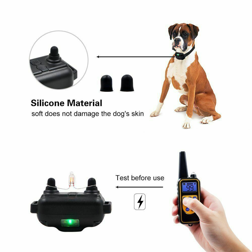 Image 81 - Waterproof-Dog-Shock-Collar-With-Remote-Electric-for-Large-875-Yard-Pet-Training