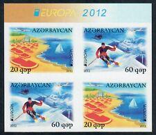 Aserbaidschan ungezähnt, Azerbaijan imperforated, Europa CEPT 2012, Zsdr.-VB **