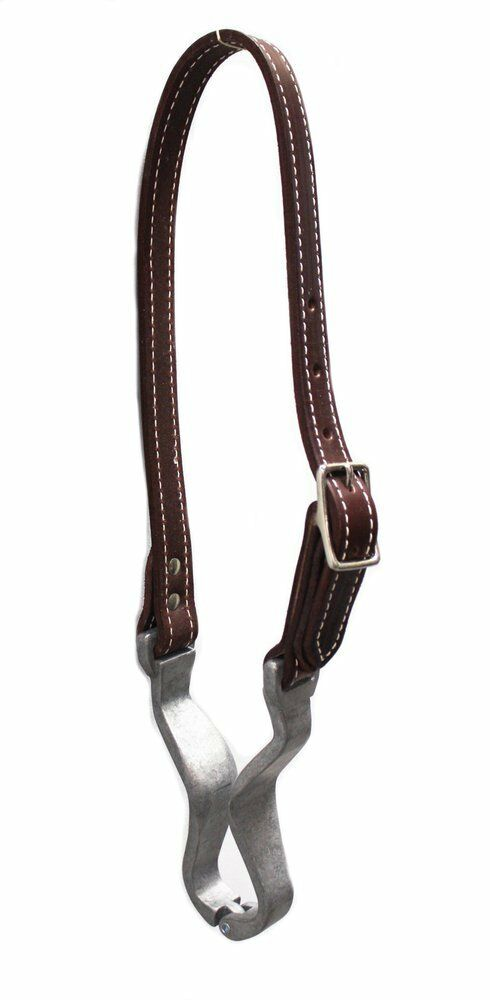 Horse Cribbing Leather Collar Strap - USA Made   simple and generous design