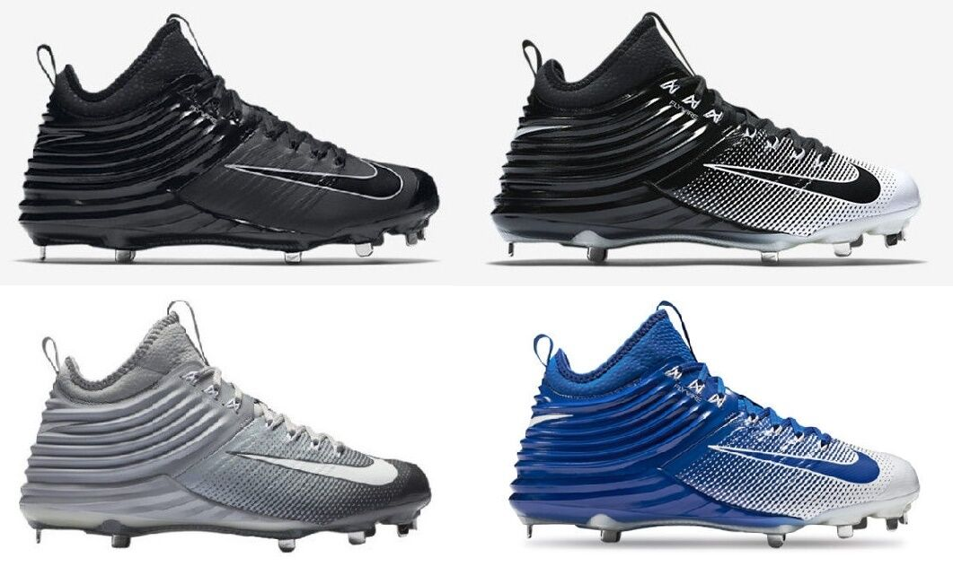 NEW Mens Nike Lunar Trout 2 Metal Baseball Cleats Various colors Retail  140