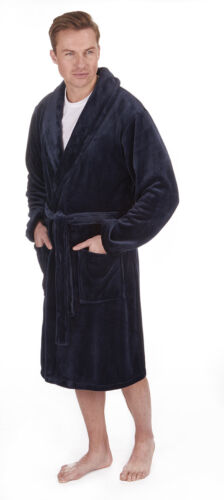 Regalo Mens Robe Vestaglia Nightwear New Lounge Pierre Inverno Accogliente Roche dvwXqxxPS
