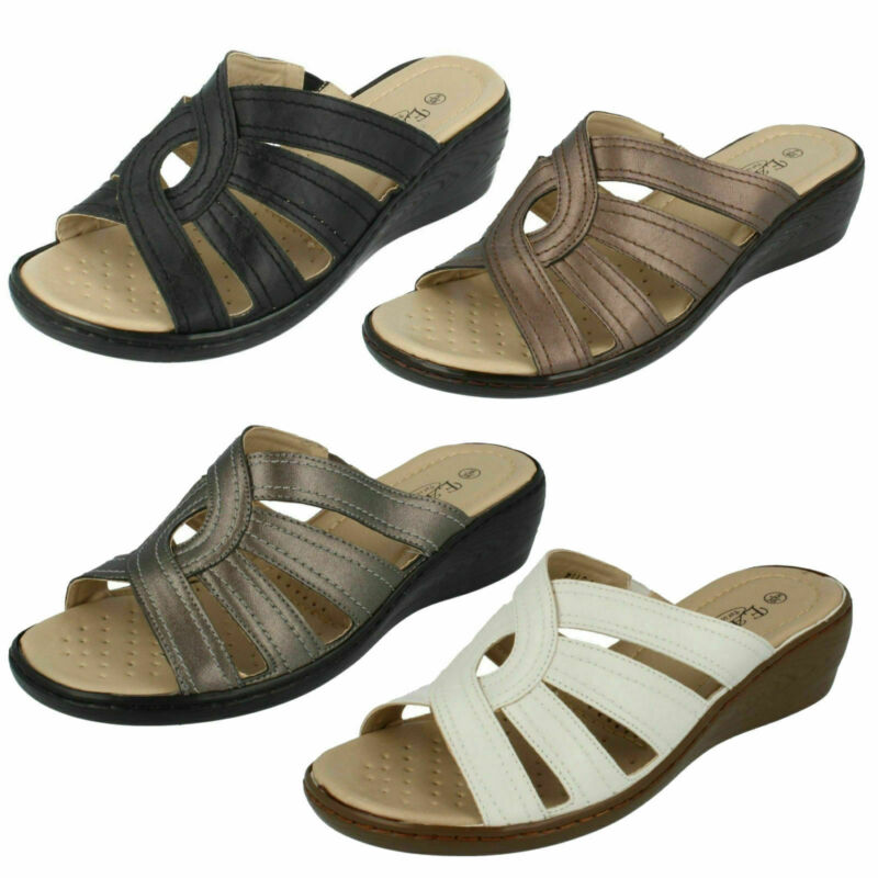 Donna F3114 Sintetico Sabot Sandalo Da Eaze Vendita Ora