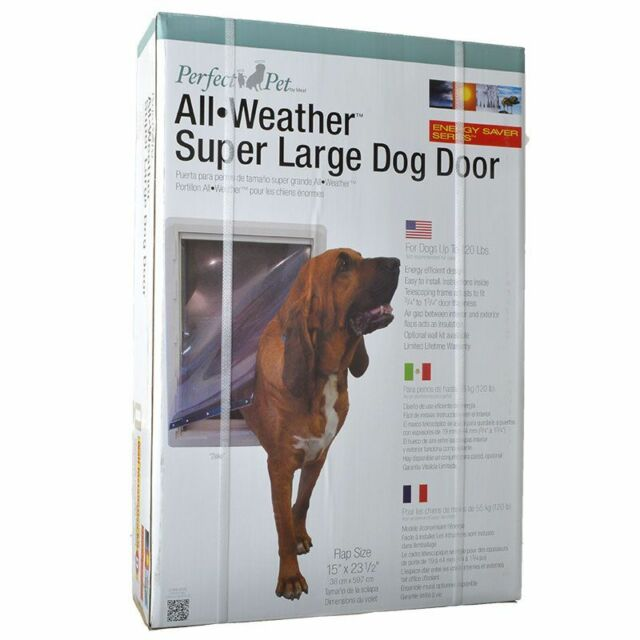 Pet By Ideal Super Large All Weather Door 030559905808 Ebay