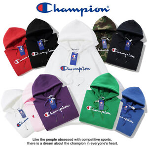 2019-New-Women-039-s-Men-039-s-Classic-Champion-Hoodies-Embroidered-Hooded-Sweatshirts