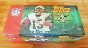 2002-Topps-Factory-Sealed-Complete-Football-Set-Tom-Brady