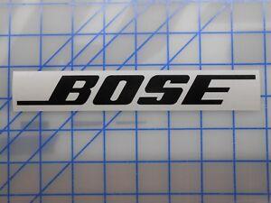 0172f7a9500 Bose Sticker Decal 7.5