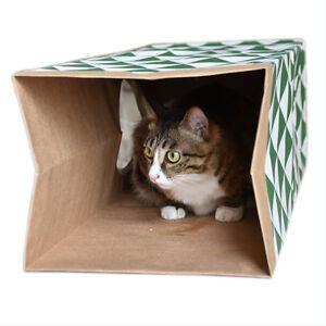 Cardboard-Cat-Scratcher-Pet-Cat-Scratching-Paper-Tunnel-Cat-Bed