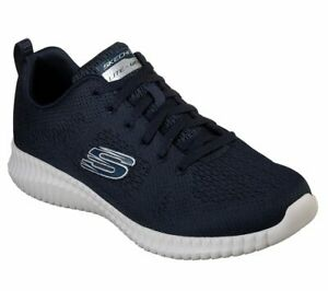 NEU SKECHERS Herren Sneakers Turnschuhe Training ELITE FLEX-CLEAR LEAF Blau