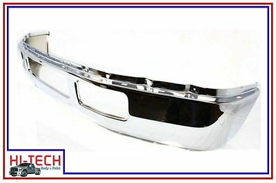 NEW FITS 05-07 FORD PICKUP F250 F350 SUPER DUTY CHROME FRONT BUMPER 5C3Z17757BA