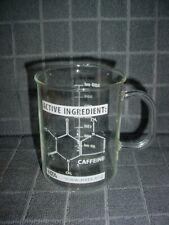 Nsta Glass Measuring Beaker Cup Caffeine Chemistry Pattern Coffee 350ml