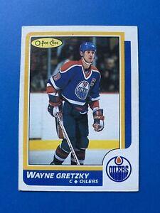 Wayne-Gretzky-1986-87-3-O-Pee-Chee-Hockey-Card-OPC-Edmonton-Oilers-OPC