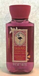 New-BAHAMAS-Travel-Shower-Gel-Bath-amp-Body-Works