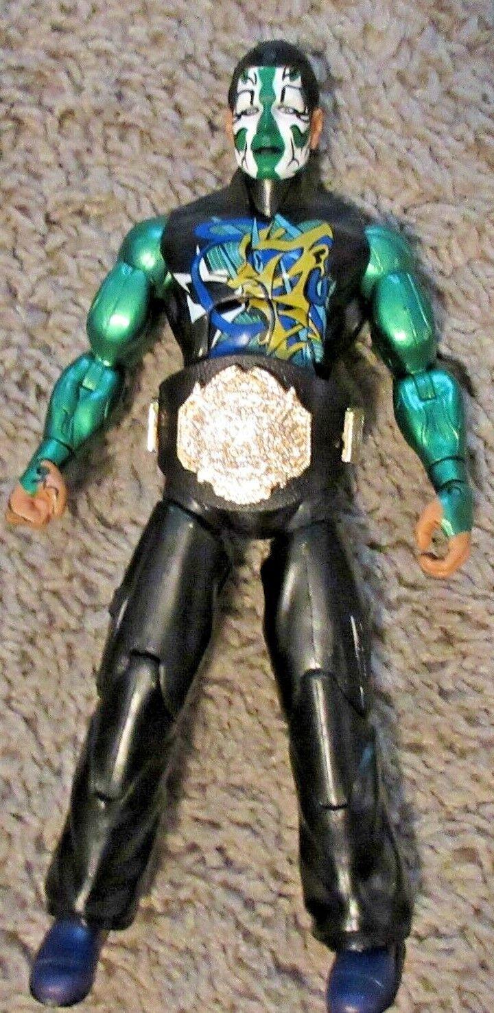 TNA IMPACT DELUXE JEFF HARDY JAKKS WWF WWE NXT RARE SERIES 7 BredHER black