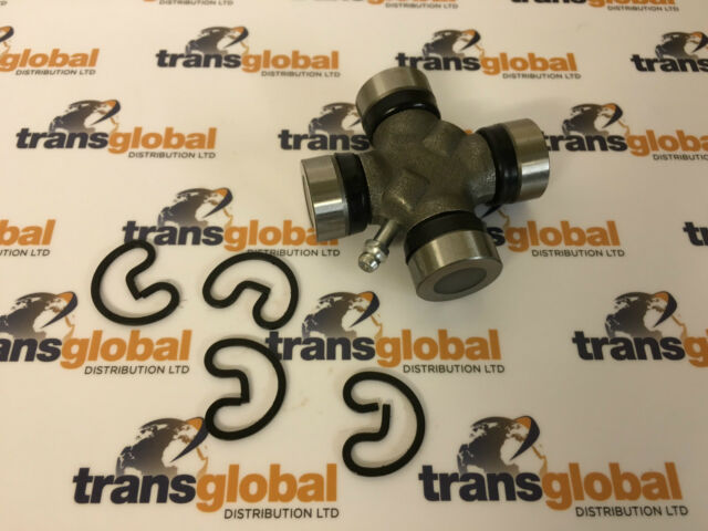 Land Rover Defender Front HD Propshaft UJ Universal Joint 75mm 27mm Cups x2