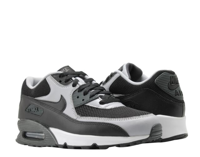 Nike Air Max 90 Essential Men s Running Shoes Black Black-Wolf Grey-Anthrct 32cf1738a