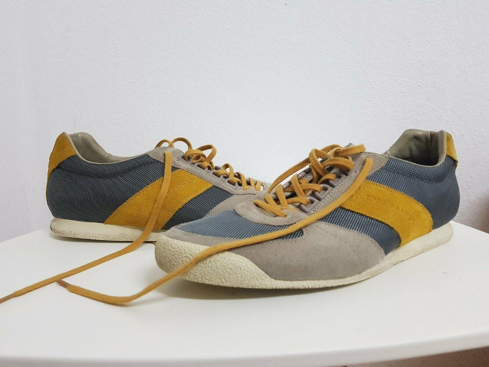 Turnschuhe, Schuhe von HUGO BOSS Orange, Modell Orleen  Gr. 45 grau    | Kaufen Sie beruhigt und glücklich spielen