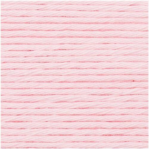 Rico Design lana Creative Cotton Aran 00 Rose 50g//85m