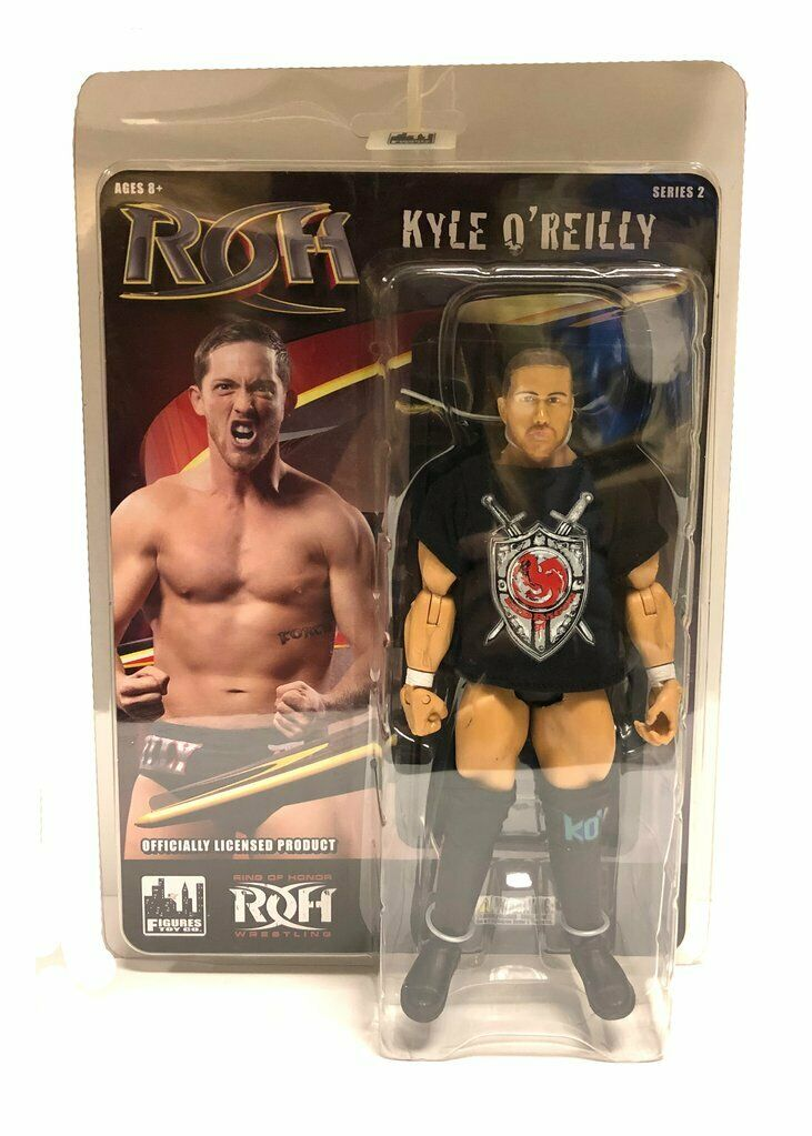 Official ROH - Ring Of Honor Series 2   Kyle O'Reilly of reDRagon Action Figure