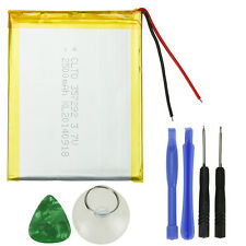 """New 3000mAh Li-ion Polymer Rechargeable Battery for 7"""" Tablet + Suction Tools"""