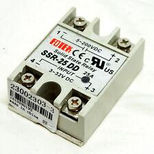 Fotek Solid State Relay Ssr 25 Dd 25 A 5 200vdc 3 32v Dc