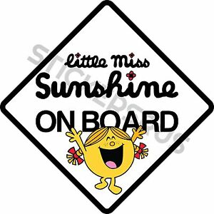 Little-Miss-Sunshine-ON-BOARD-Car-Sticker