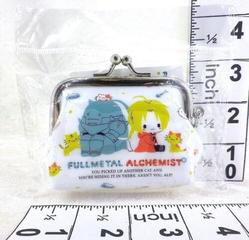 Fullmetal Alchemist x Sanrio Collab Edward /& Alphonse Elric Clasp Pouch Cute