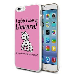 online store d4dce 743be Details about Premium Design Hard Case Cover for Various Mobiles - i Wish I  Was A Unicorn